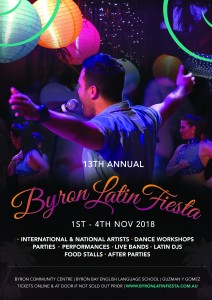 13th Annual Byron Latin Fiesta - Pre Party @ Byron Community Centre (Cavanbah Room - upstairs)