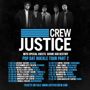 Justice Crew Concert Presented by Nui Events @ Byron Theatre