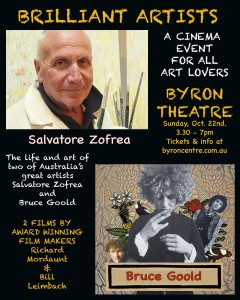 BRILLIANT ARTISTS presented by Richard Mordaunt and Bill Leimbach @ Byron Theatre