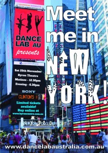 Meet Me In New York presented by Dance Lab Australia @ Byron Theatre