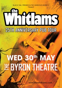 The Whitlams - 25th Anniversary Tour presented by The Harbour Agency @ Byron Theatre