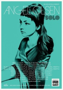 Angel Olsen solo presented by Billions Australia @ Byron Theatre