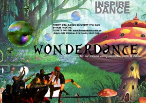 Wonderdance presented by Inspire Dance Studio @ Byron Theatre