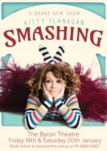**SOLD OUT** Kitty Flanagan: Smashing presented by A-List Entertainment @ Byron Theatre