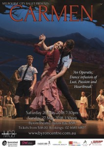 Carmen Dance Workshop presented by Melbourne City Ballet @ Byron Theatre