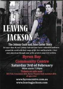 Leaving Jackson - The Johnny Cash and June Carter Story presented by Urban Rush Entertainment @ Byron Theatre