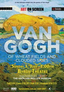 Van Gogh: Of Wheat Fields and Clouded Skies - Art on Screen presented by Byron Theatre @ Byron Theatre