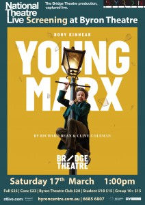 Young Marx – National Theatre Live Screening presented by Byron Theatre @ Byron Theatre