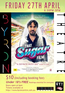 That Sugar Film Presented by Byron Youth Theatre & Damon Gameau @ Byron Theatre | Byron Bay | New South Wales | Australia