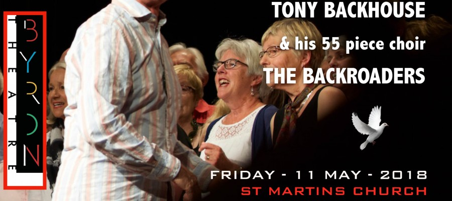 Backhouse and the Backroaders at Byron Theatre & St Martin's Anglican Church, Mullumbimby
