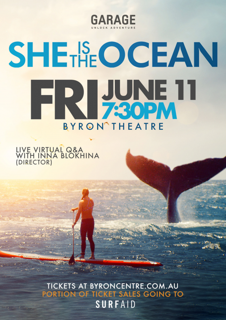 She Is The Ocean presented by Garage Entertainment at byron Theatre