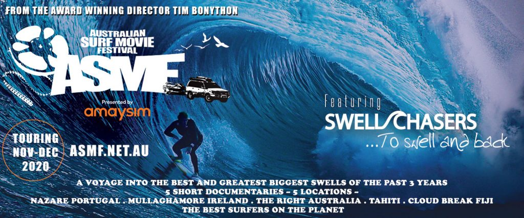 Australian Surf Movie Festival Tour 2020 presented by Tim Bonython at Byron Theatre