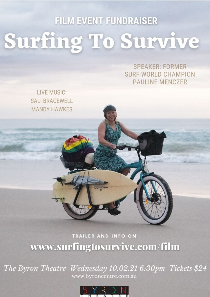 Surfing To Survive - Film Event Fundraiser at Byron Theatre