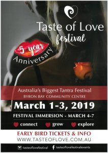 Taste of Love Festival 2019 @ Byron Theatre