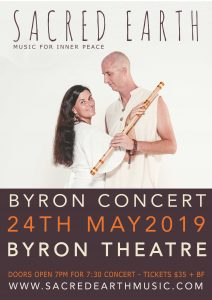 Sacred Earth - Live in Concert @ Byron Theatre