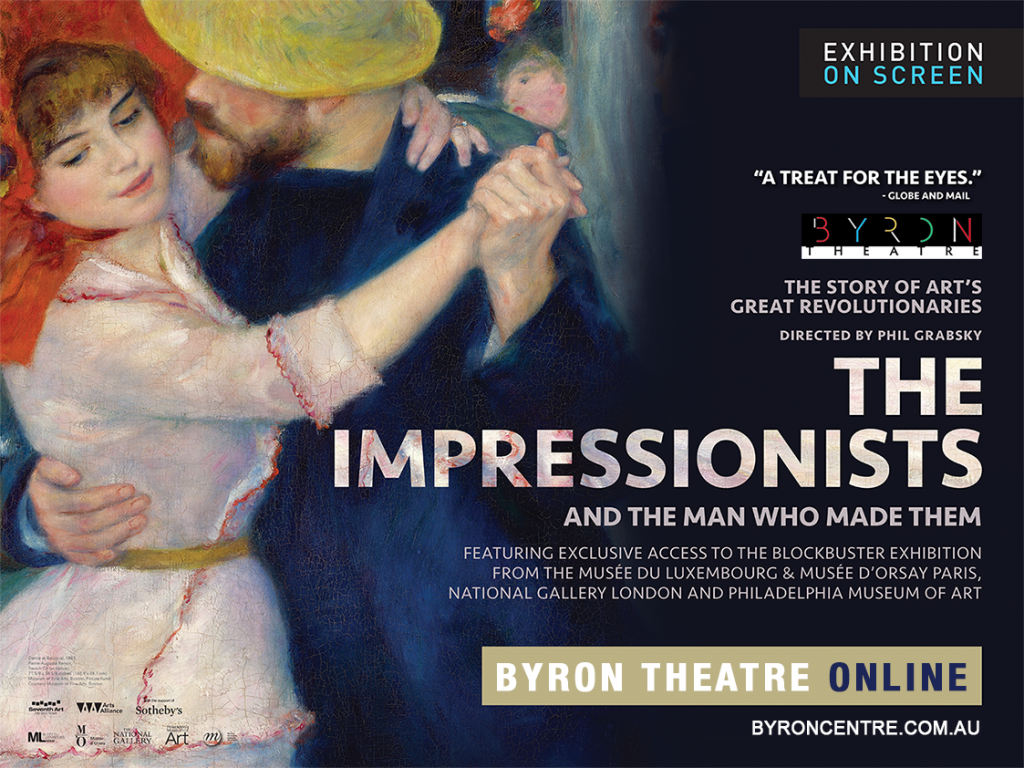 Stream at Home: The Impressionists - and the Man Who Made Them - Exhibition On Screen - Byron Theatre Online