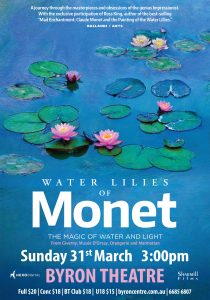 Water Lilies of Monet: The Magic of Water and Light - Art On Screen presented by Byron Theatre
