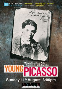 Young Picasso - Exhibition On Screen presented by Byron Theatre