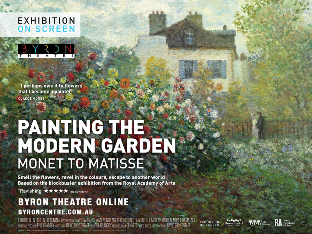 Stream at Home: Painting the Modern Garden – Monet to Matisse - Exhibition On Screen - Byron Theatre Online