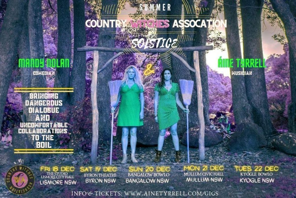 Country Witches Association: Summer Solstice presented by Mandy Nolan and Áine Tyrrell at Byron Theatre