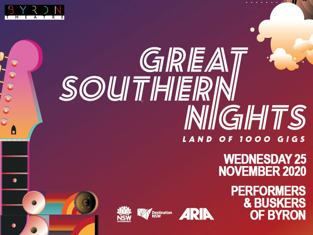 Performers & Buskers of Byron presented by Great Southern Nights at Byron Theatre