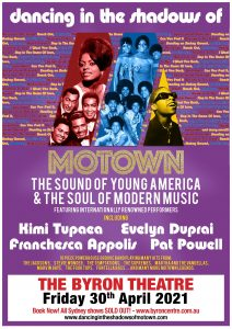 Dancing in the Shadows of Motown presented by Craig Bodinnar @ Byron Theatre