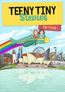 Teeny Tiny Stevies in Big Spaces presented by Piper's Son @ Byron Theatre
