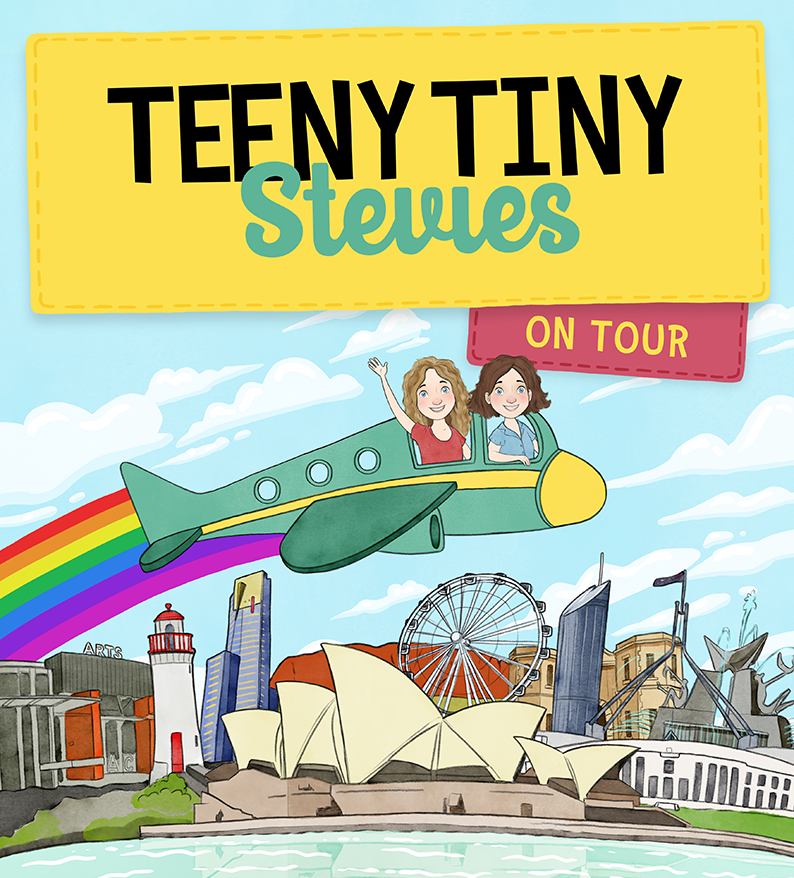 Teeny Tiny Stevies in Big Spaces presented by Piper's Son at Byron Theatre