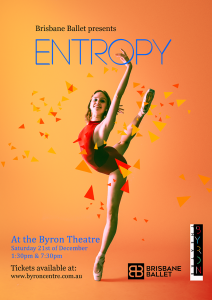 Entropy presented by Brisbane Ballet @ Byron Theatre