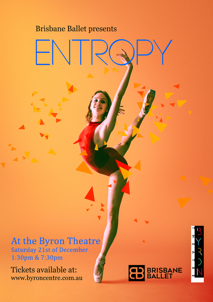 Entropy presented by Brisbane Ballet at Byron Theatre