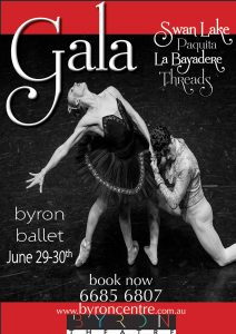 Ballet Gala presented by Byron Ballet and Byron Theatre @ Byron Theatre