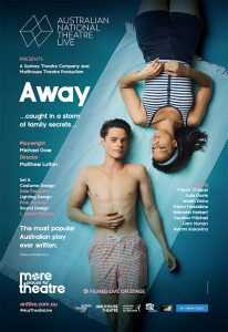 AWAY by Michael Gow – Australian National Theatre Live Screening presented by Byron Theatre @ Byron Theatre