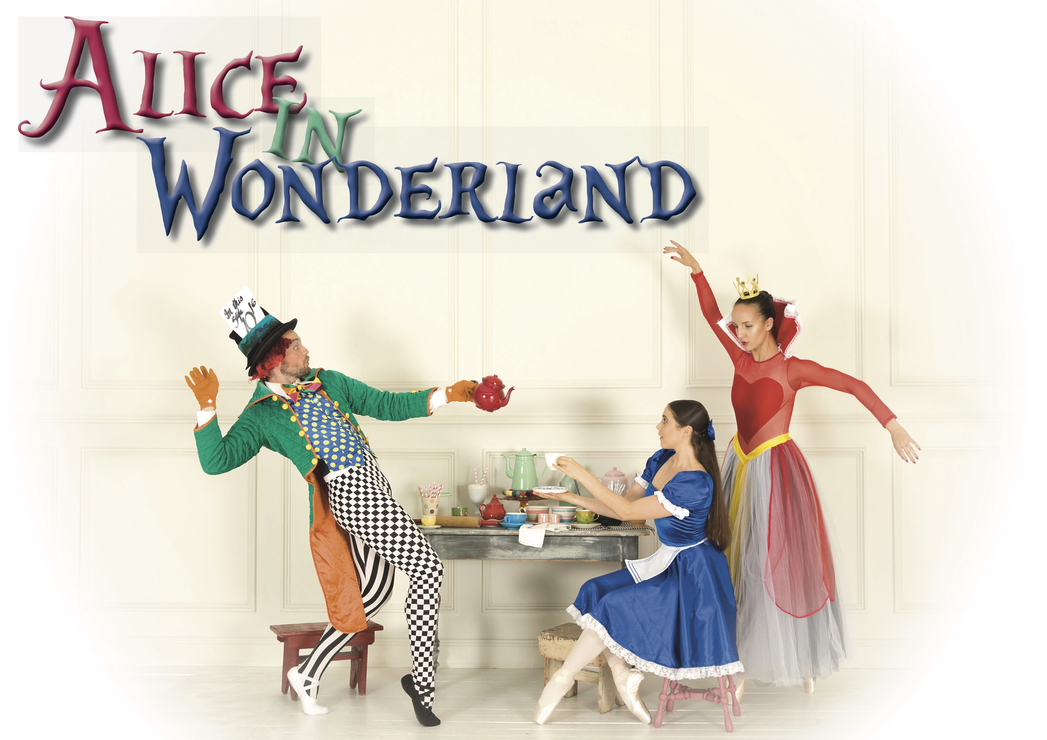 Alice In Wonderland presented by Melbourne City Ballet at Byron Theatre