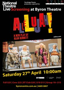 Allelujah! by Alan Bennett – National Theatre Live Screening presented by Byron Theatre @ Byron Theatre