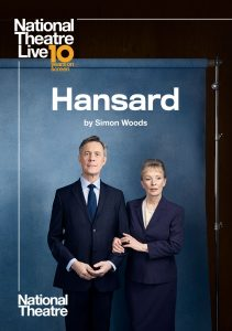Hansard by Simon Wood – National Theatre Live Screening presented by Byron Theatre @ Byron Theatre