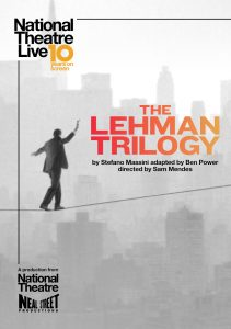 The Lehman Trilogy – National Theatre Live Screening presented by Byron Theatre @ Byron Theatre