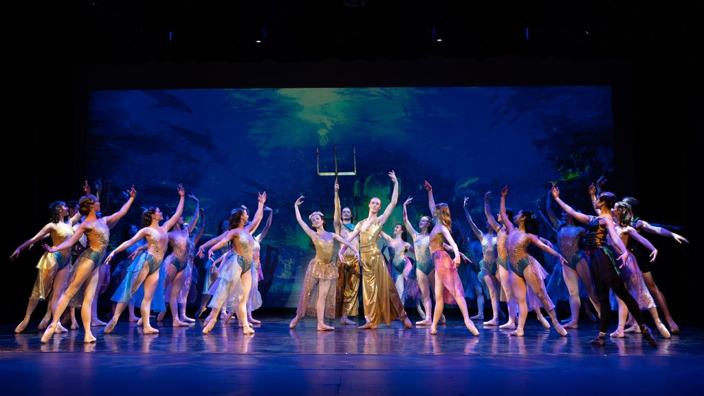 The Little Mermaid presented by Victorian State Ballet & Byron Theatre