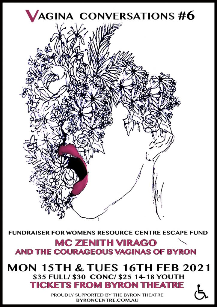 Vagina ConVersations #6 presented by Zenith Virago & Byron Theatre