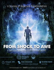 From Shock to Awe - Premier Screening plus Q&A presented by Aadii Mesh Foundation @ Byron Theatre | Byron Bay | New South Wales | Australia