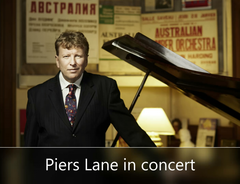 Piers Lane In Concert presented by Byron Music Society at Byron Theatre