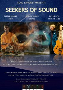 Seekers of Sound presented by Soul Sangeet @ Byron Theatre | Byron Bay | New South Wales | Australia