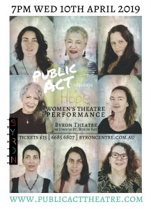 HOPE – Women's Theatre Performance presented by Public Act Theatre @ Byron Theatre