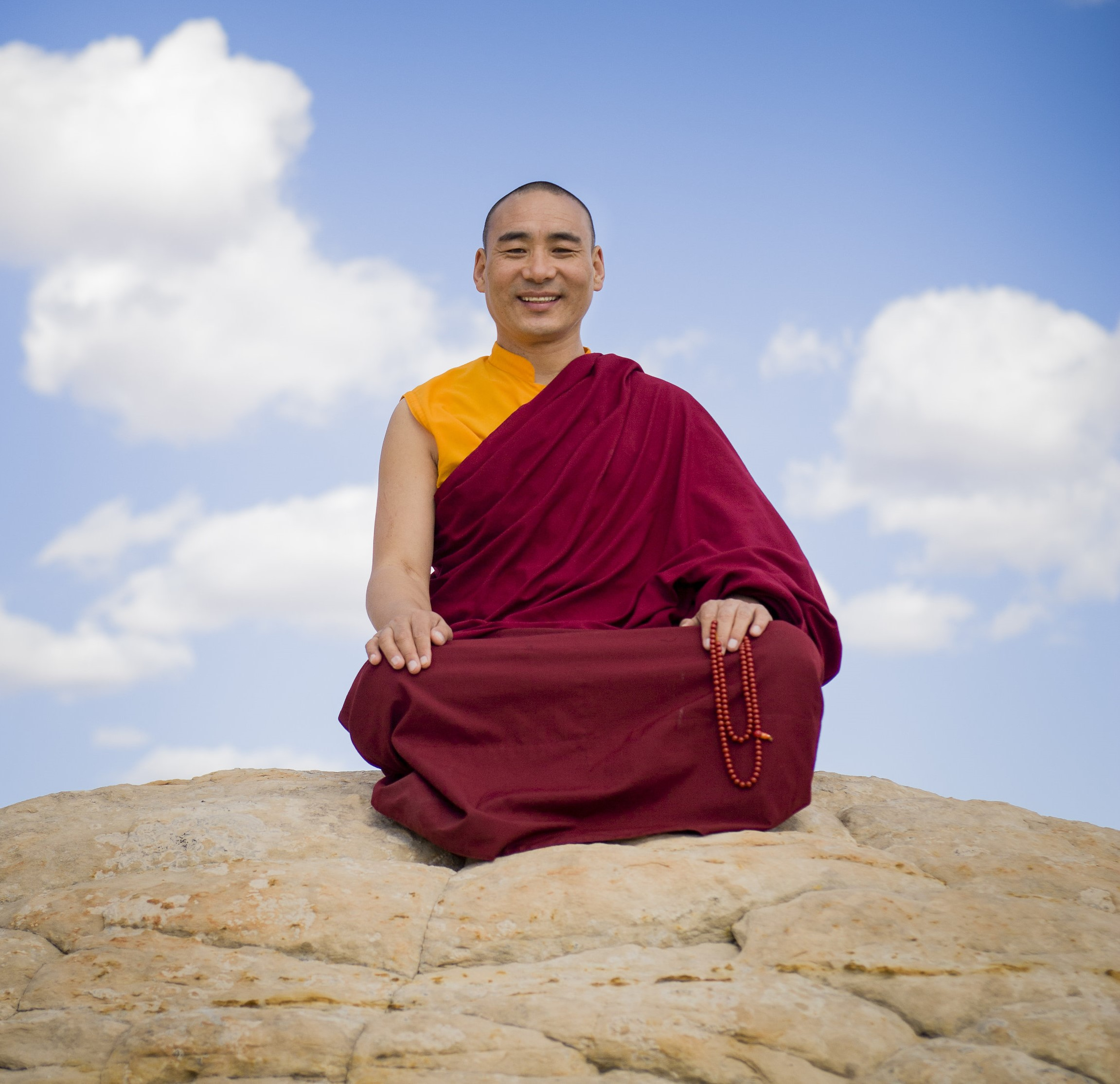 Khentrul Lodrö T'hayé Rinpoche, Teacher of Tibetan Buddhism: The Knowledge Necessary to Know Peace and Happiness presented at Byron Theatre