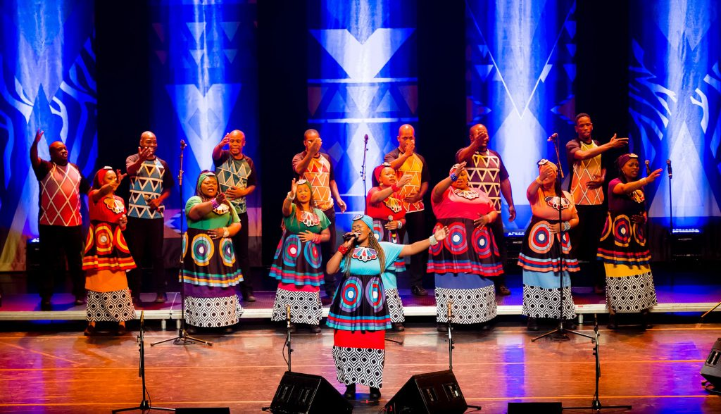 Soweto Gospel Choir presented by Andrew Kay & Associates at Byron Theatre