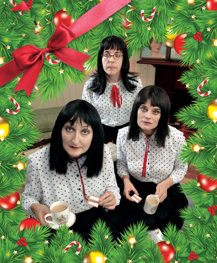 A Very Kransky Christmas presented by Alist.com.au, The Kransky Sisters and QPAC at Byron Theatre
