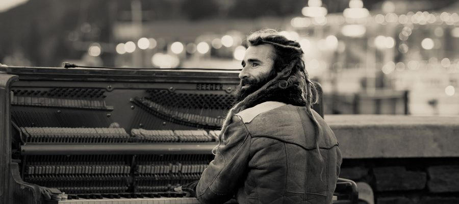 """Piano Busker"" - AJ Hickling in Concert at Byron Theatre"