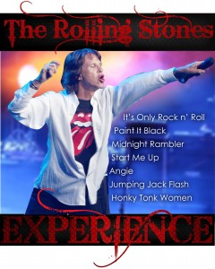 The Rolling Stones Experience presented by JPSE Entertainment Group @ Byron Theatre