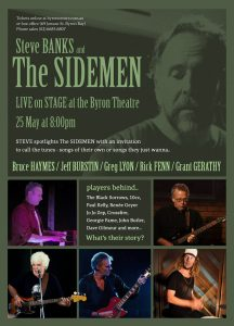 The SIDEMEN presented by Steve Banks Productions at Byron Theatre