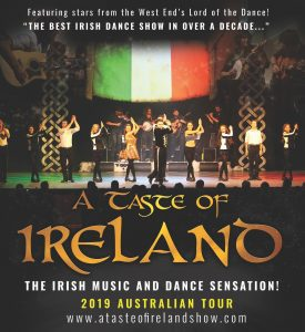 A Taste of Ireland – The Irish Music & Dance Sensation presented by Pace Live @ Byron Theatre | Byron Bay | New South Wales | Australia