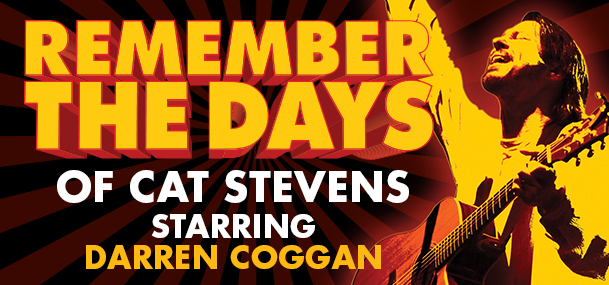 Darren Coggan: Remember The Days Of Cat Stevens presented by The Harbour Agency at Byron Theatre